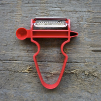 50mm Julienne Red Peeler