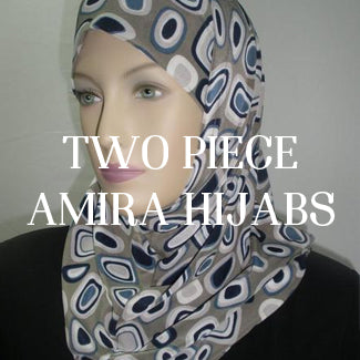 TWO PIECE AMIRA HIJABS