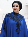 Taj (Royal Blue) Abaya