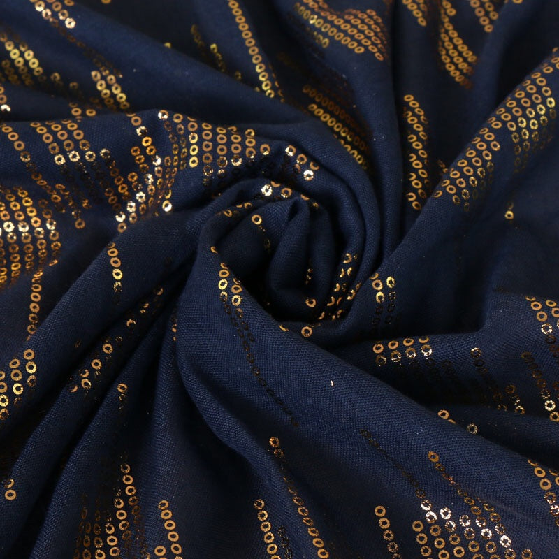Golden Beats Cotton Shawls