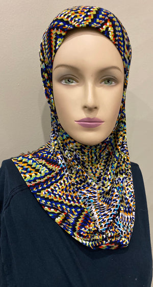 """Indian Summers"" 2 pc Ameera Hijabs"