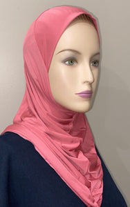 One Pc Solid Hijabs