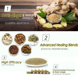 Anti-Swelling Ginger Foot SPA - 10pcs - Sublime Booth Co