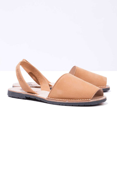 Cuero - Tan Nubuck Leather