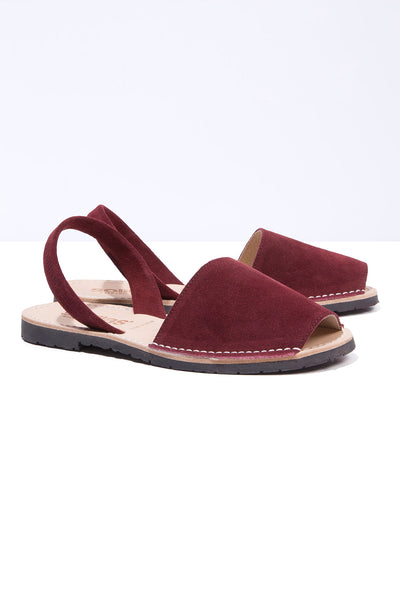 Moho - Deep Red Suede