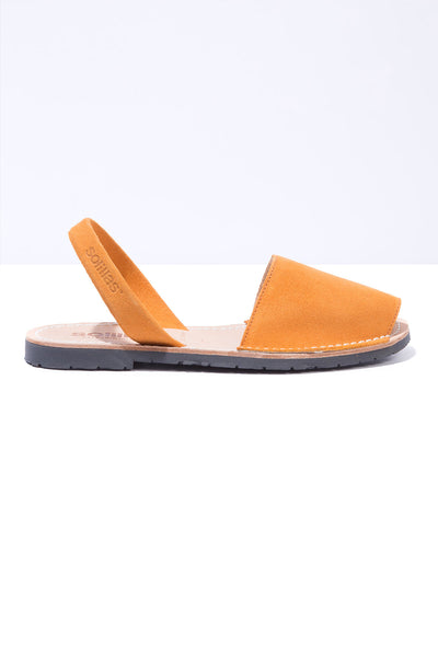 Mustard - Warm Yellow Suede
