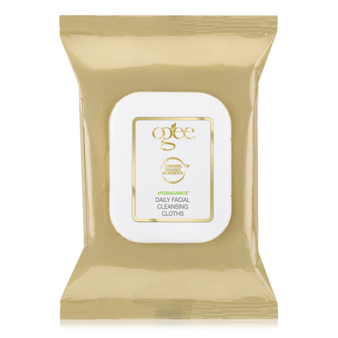 Ogee Organic Daily Facial Cleansing Cloths, makeup removing wipes, organic face wipes