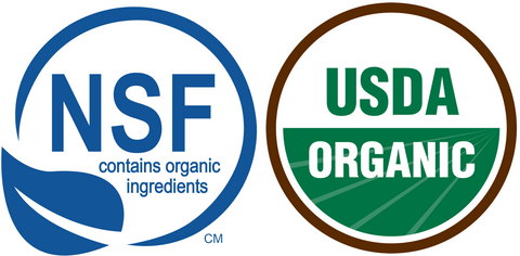 NSF and Certified Organic Ingredients in Ogee Organic Skincare Products