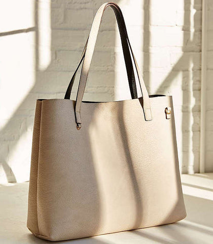 Urban Outfitters Vegan Leather Reversible Tote Bag