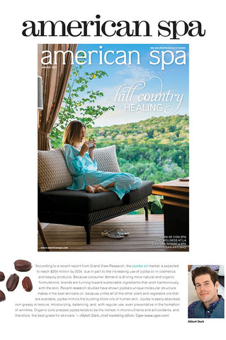 American Spa: What's Trending - Ingredients to Note from Ogee Organic Skincare