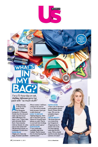 US Weekly: What's in My Bag - Ogee's Organic Sculpted Lip Oil