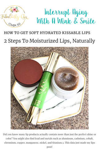 Fabulously Chic- How To Get Soft Hydrated Kissable Lips