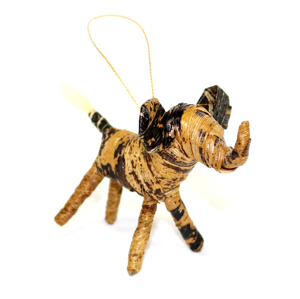 Banana Fiber Animal Ornament Collection