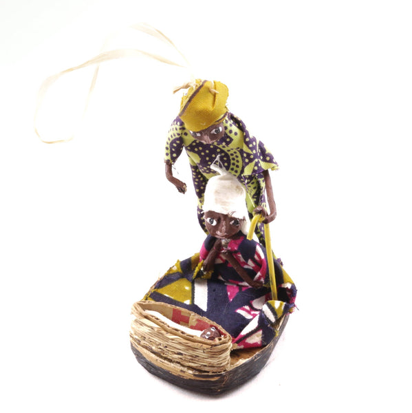 Holy Family Ornament Fair Trade Handmade Africa