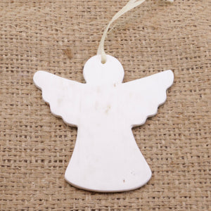 Cow Horn Ornament - Angel