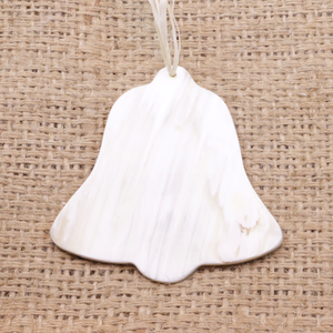 Cow Horn Bell Christmas Ornament Fair Trade