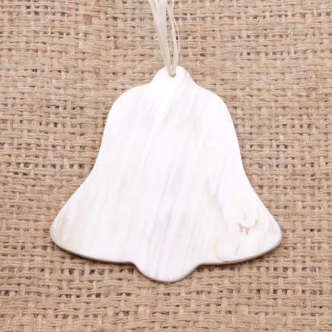 Cow Horn Ornament - Bell