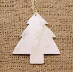 Cow Horn Ornament - Tree