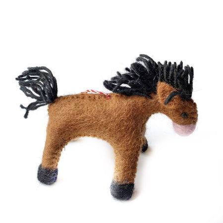 Horse Christmas Ornament Fair Trade Handmade