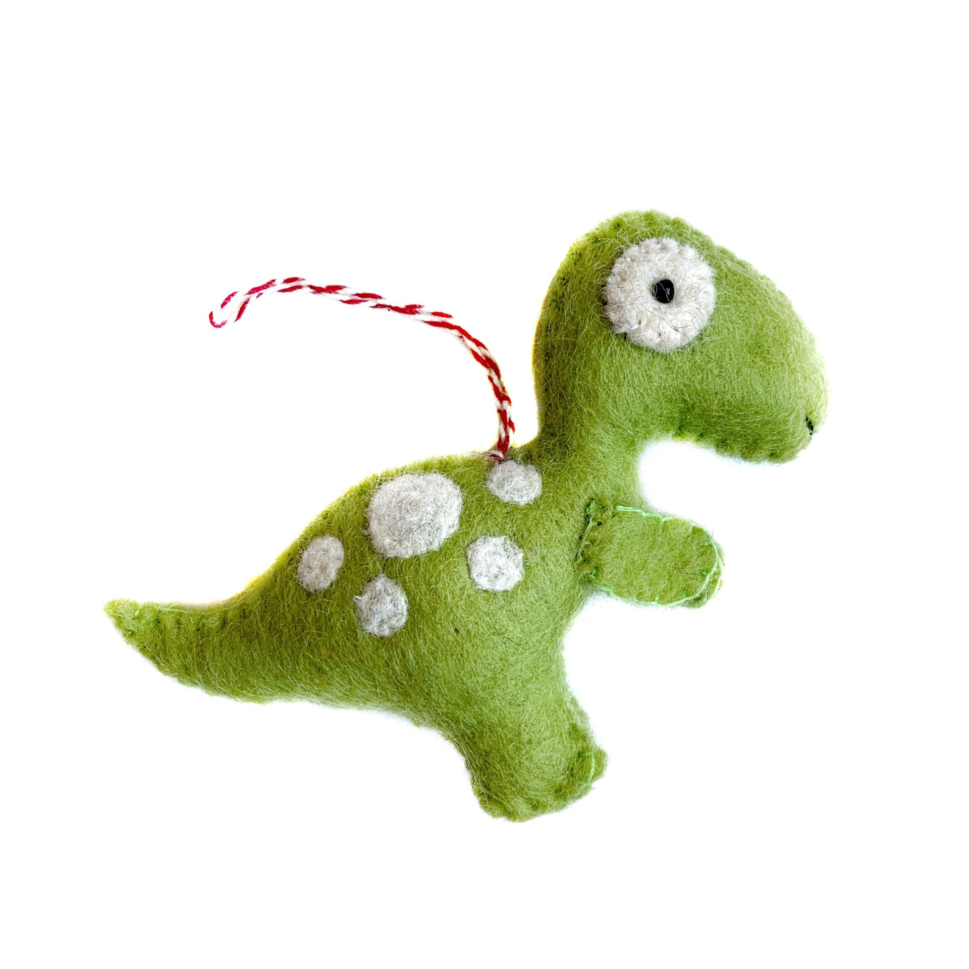 T-Rex Dinosaur Christmas Ornament Cute Handmade