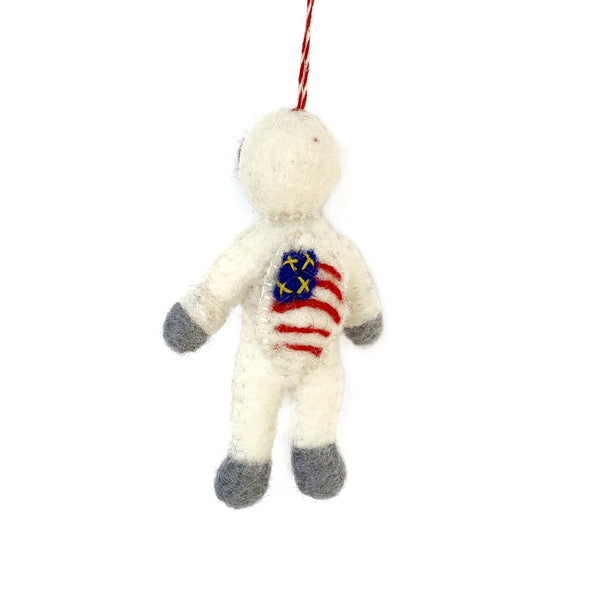 American Astronaut Christmas Ornament