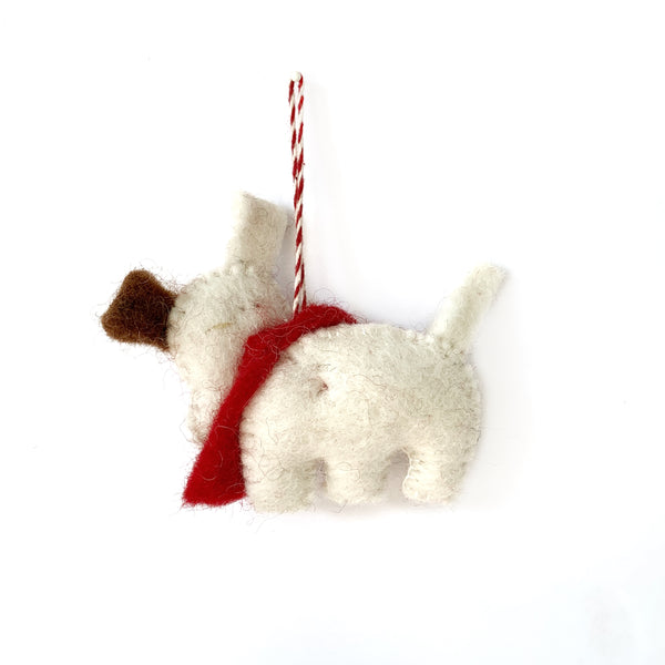 Fair Trade Dog Ornament from Nepal