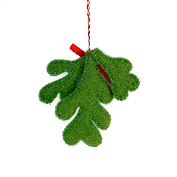 Mistletoe Ornament from Nepal Fair Trade