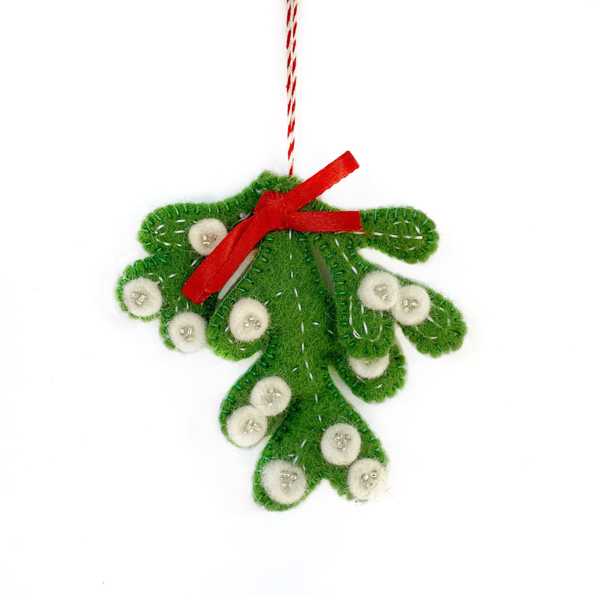 Mistletoe Ornament Fair Trade Nepal