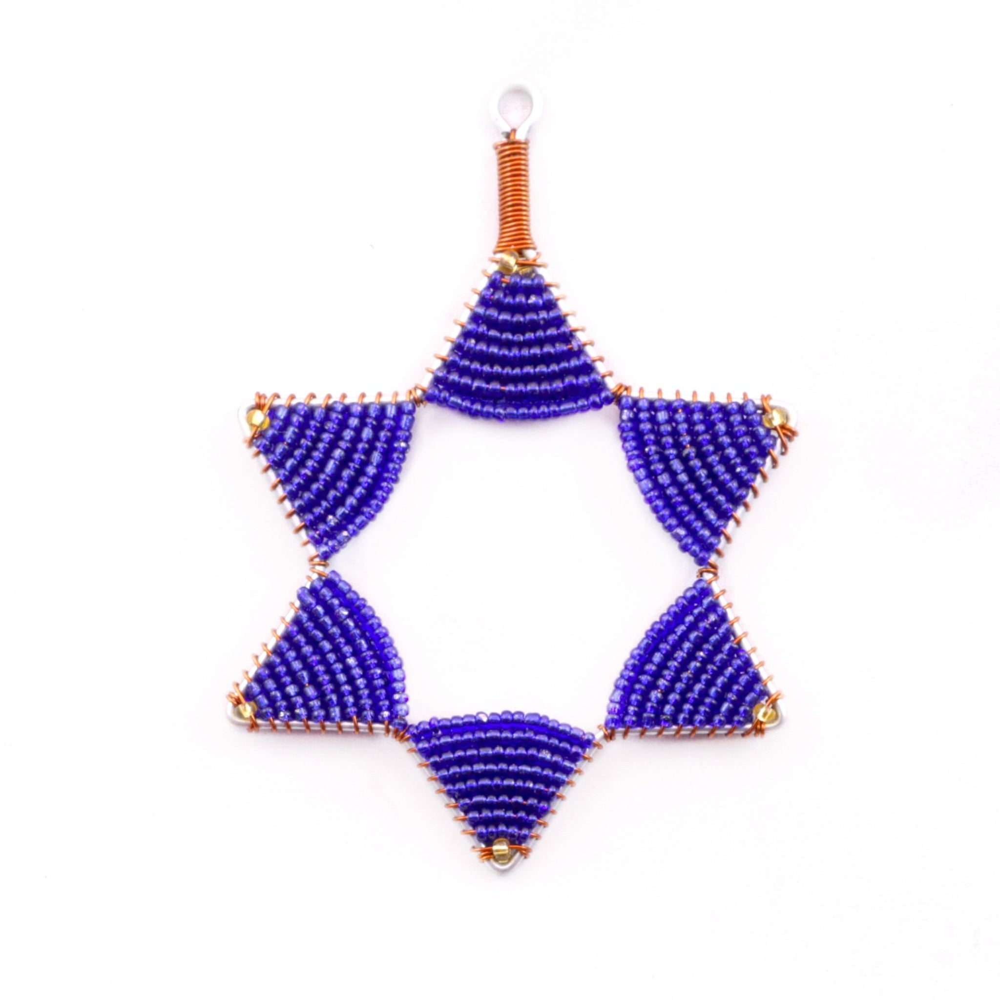 Star of David Hanukkah Ornament Fair Trade