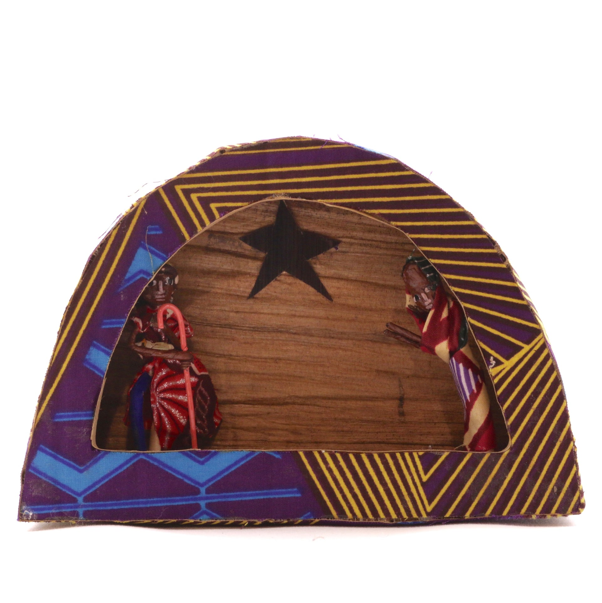 African Kitenge Nativity Fair Trade