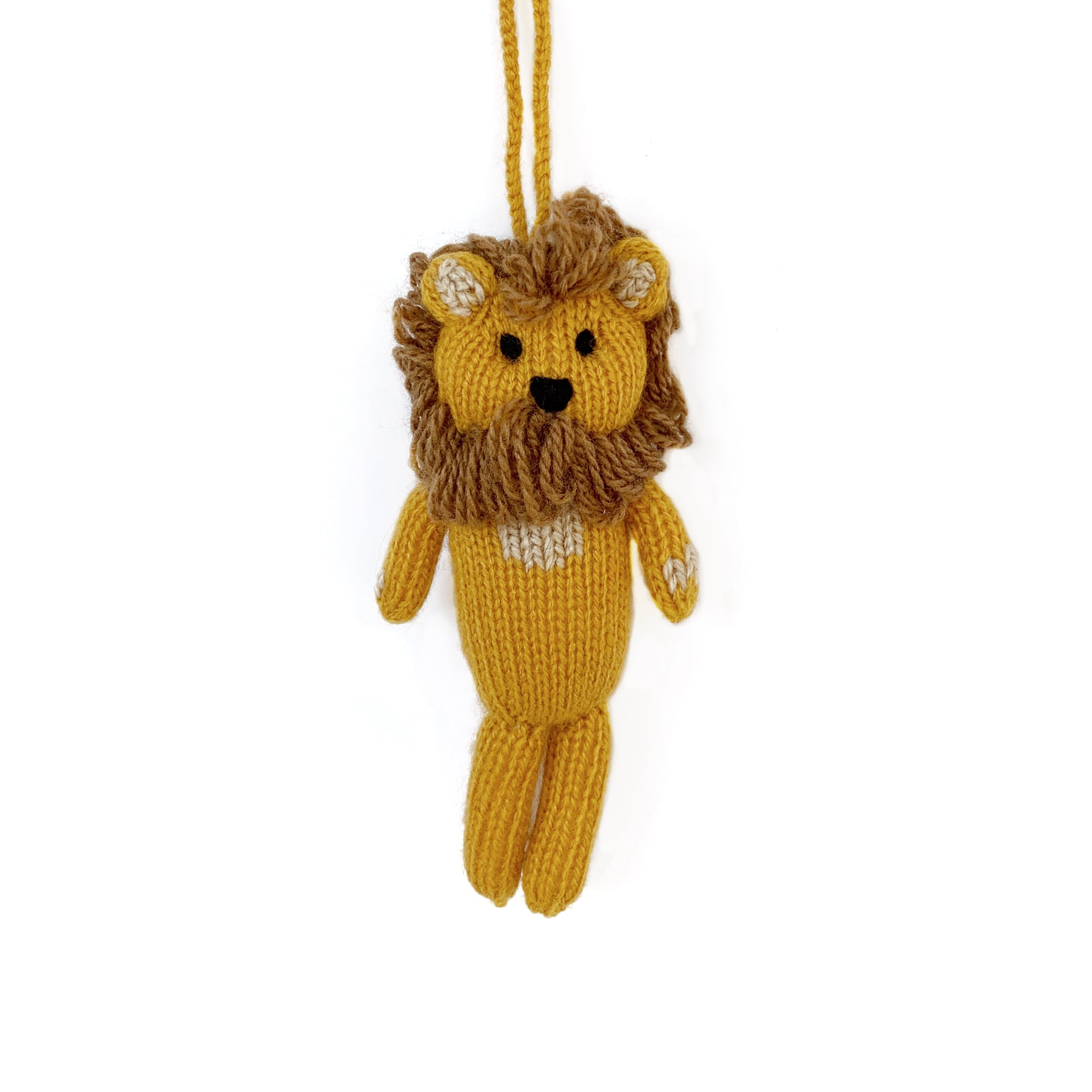 Lion Ornament Fair Trade