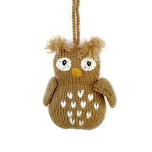 Owl Ornament Fair Trade