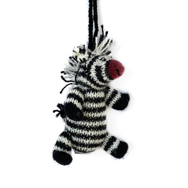 Zebra Ornament Fair Trade