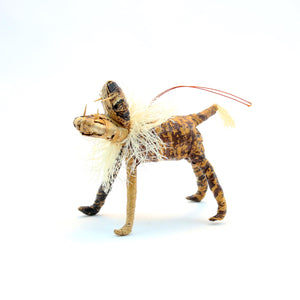 Banana Fiber Ornament - Lion