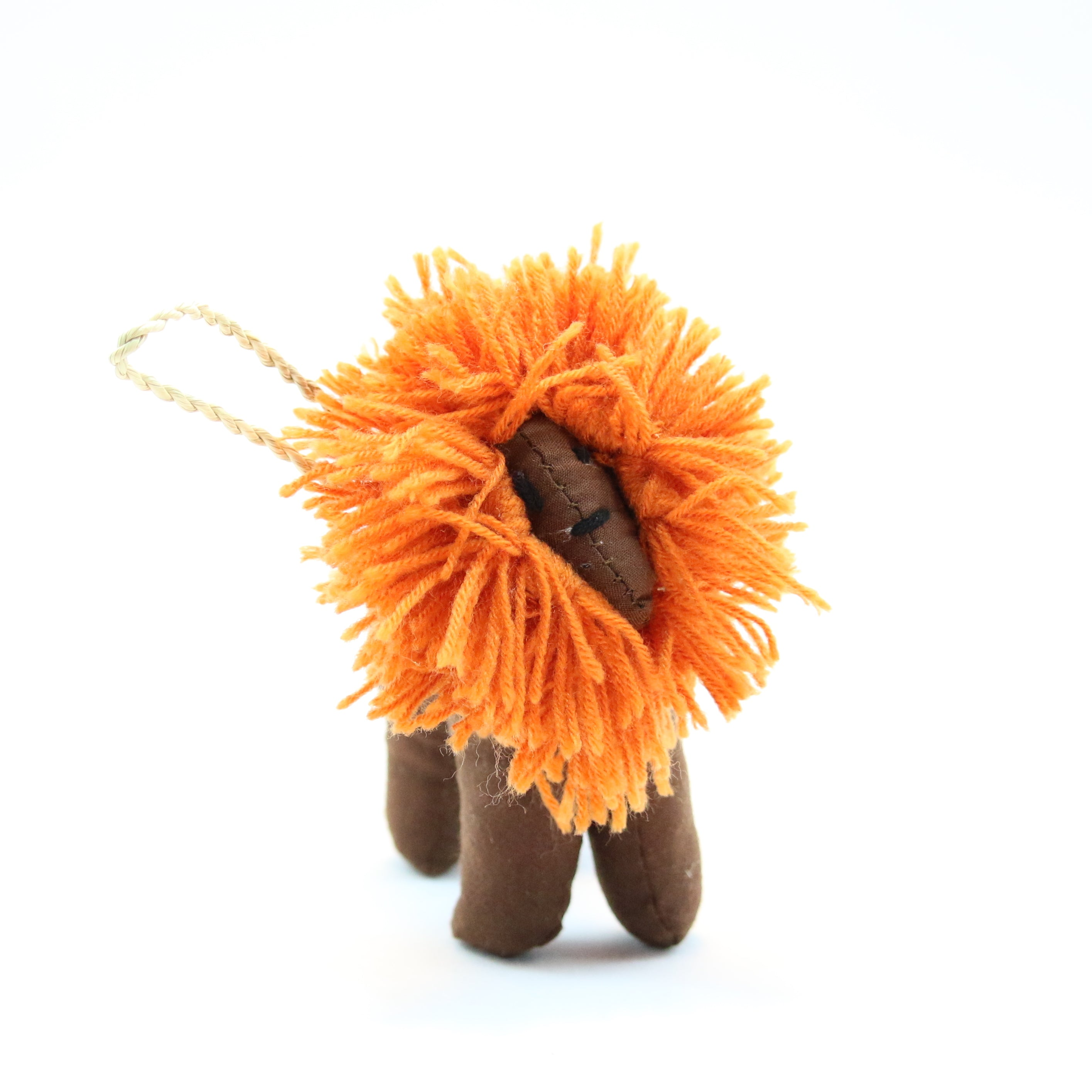 Stuffed Lion Ornament (Various Colors)