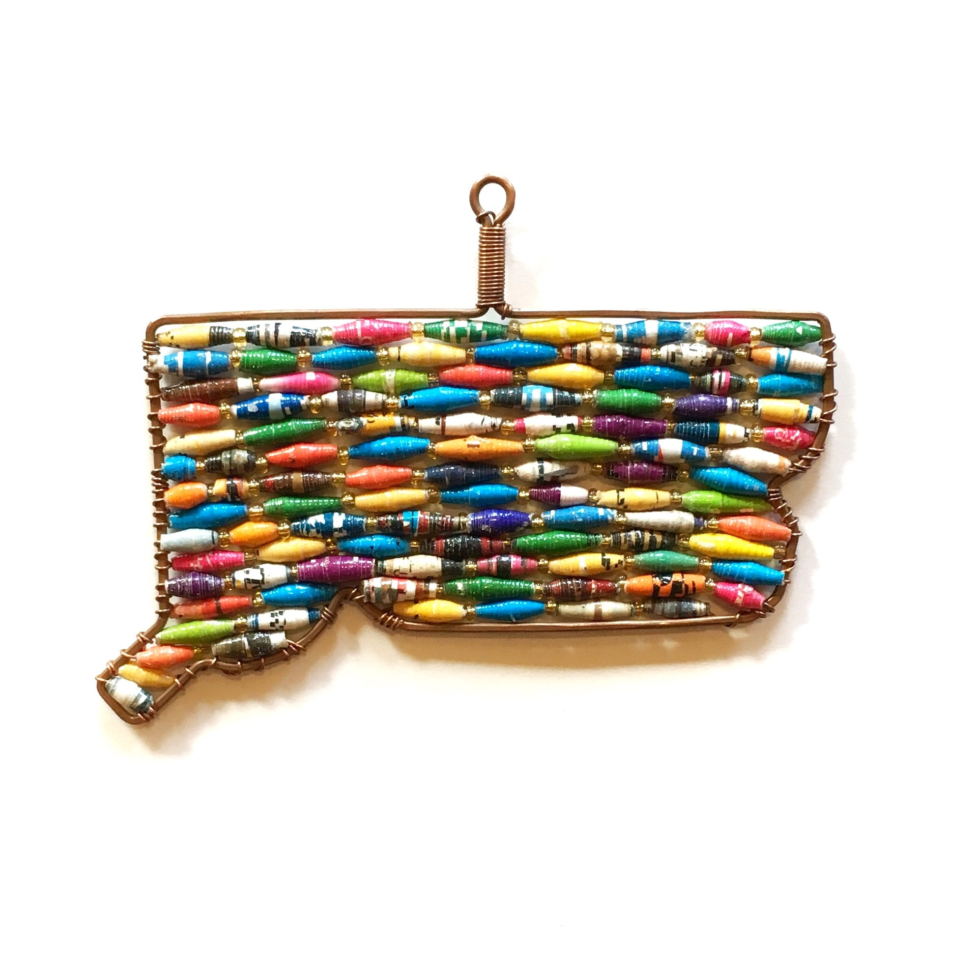 Paper Bead Ornament, States