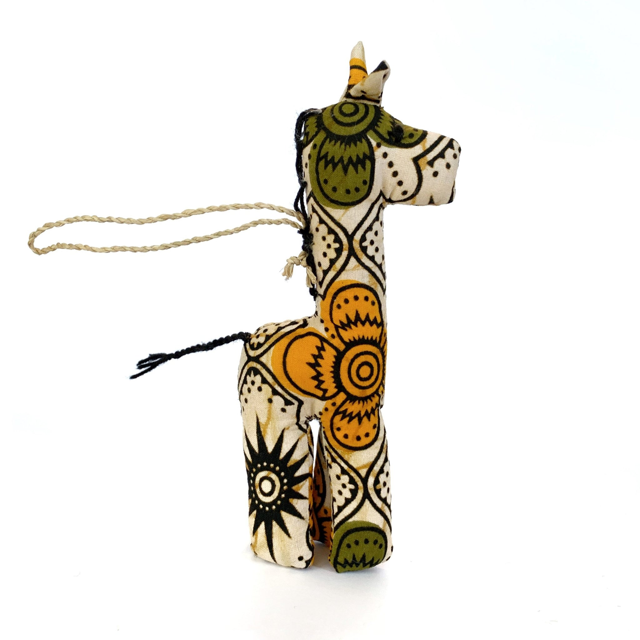Fair Trade African Giraffe Ornament