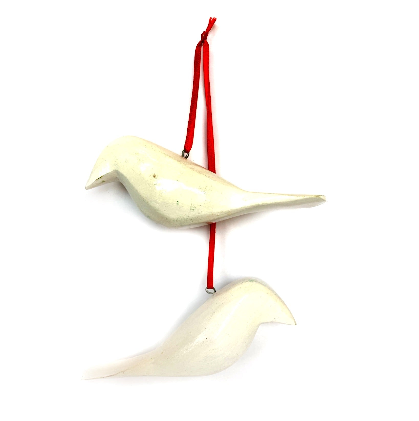 Two Turtledoves Ornaments