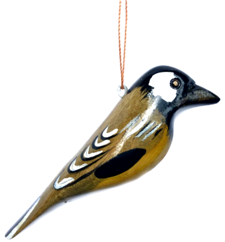 Black-Capped Chickadee Christmas Ornament