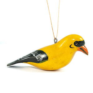 Goldfinch Bird Christmas Ornament