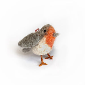 Bird Ornament - Tufted Wool
