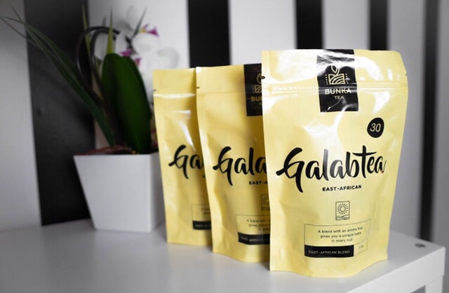 GalabTEA - Kenyan black tea with organic ginger, cardamom and cinnamon. - BUNKA