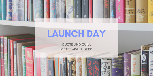Quote and Quill launches!