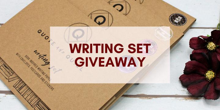 National Card and Letter Writing Month: Win a literary writing set bundle