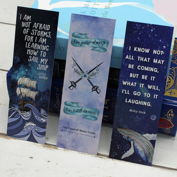 Wise Words From Literary Greats Bookmark Set