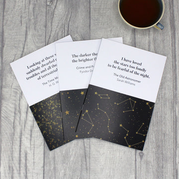 Stars and Space A5 Notebooks