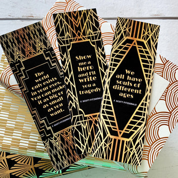F. Scott Fitzgerald Bookmark Set