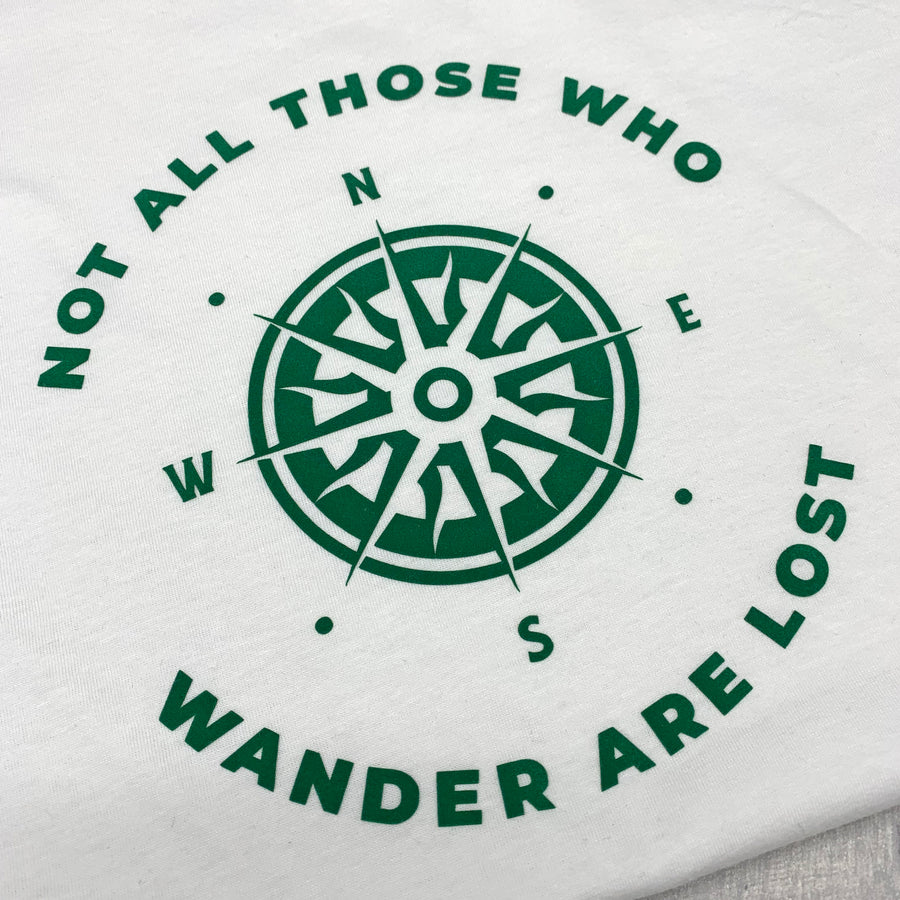 Not All Those Who Wander Are Lost Recycled T-Shirt