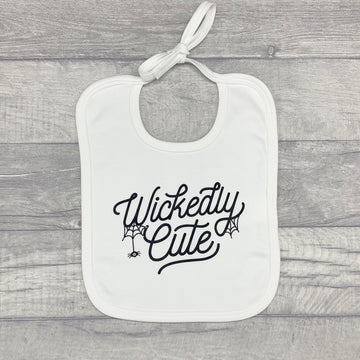 Wickedly Cute Baby Bib