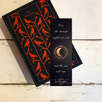 Les Miserables - 'Even The Darkest Night Will End' Bookmark